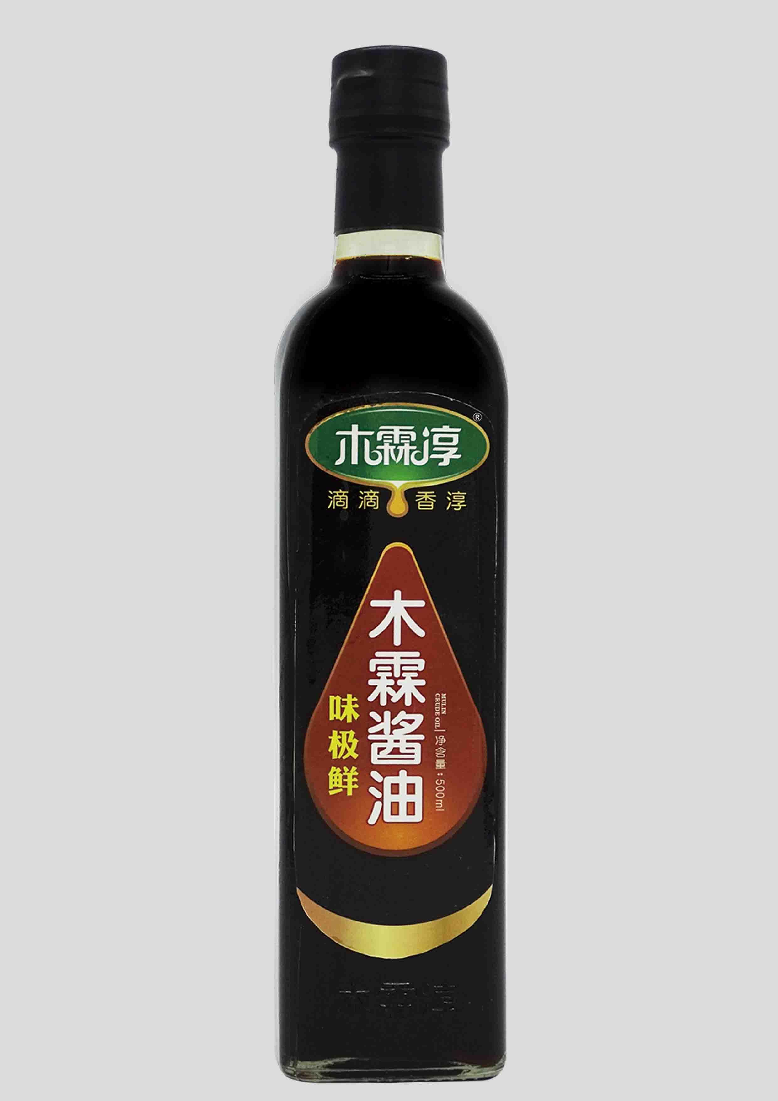 木霖味极鲜酱油500ML