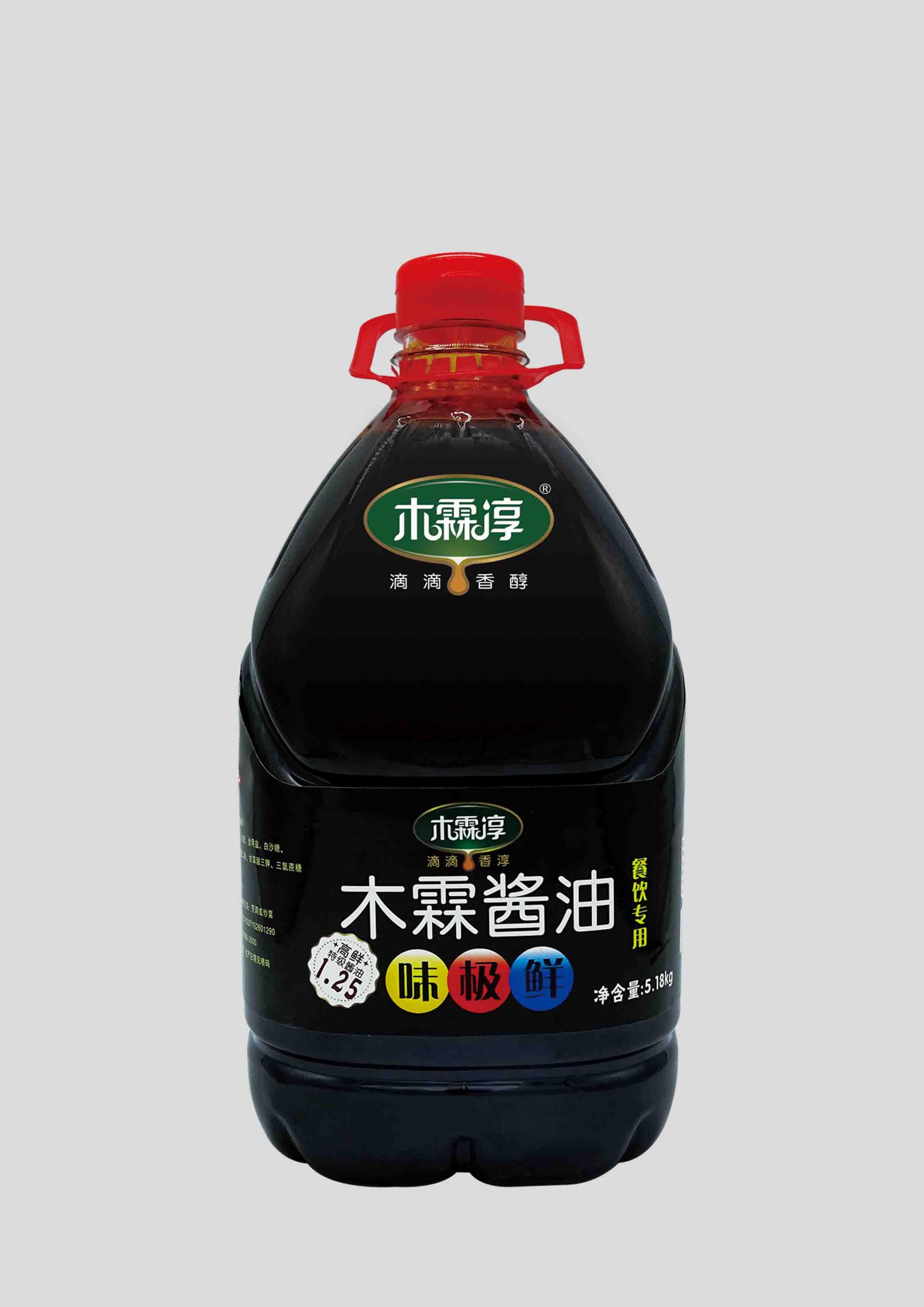 木霖味极鲜酱油5.18kg(餐饮专用)