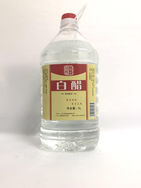 柴府原味白醋10.5L