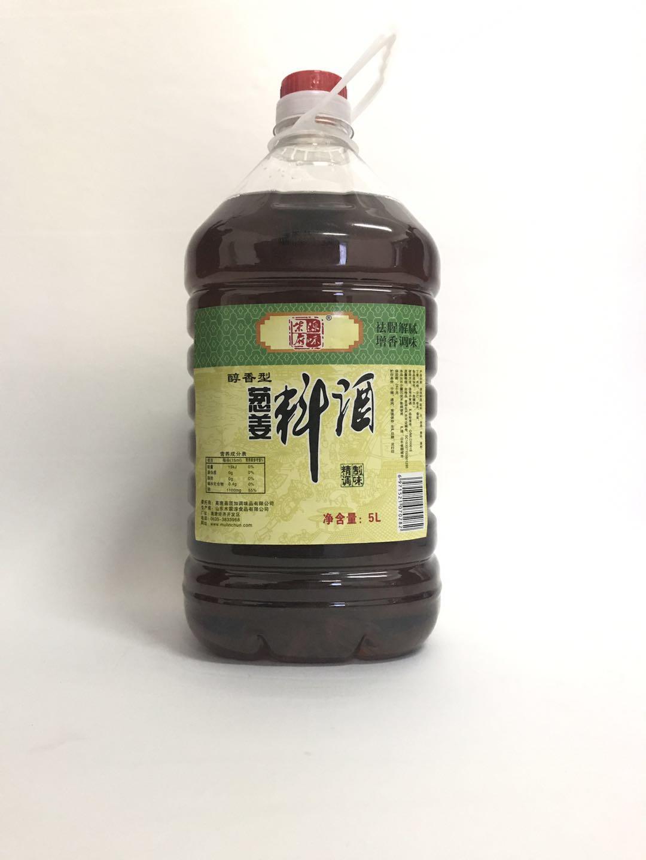 柴府原味葱姜料酒5L