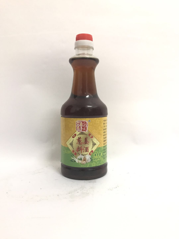 柴府原味葱姜料酒800ML