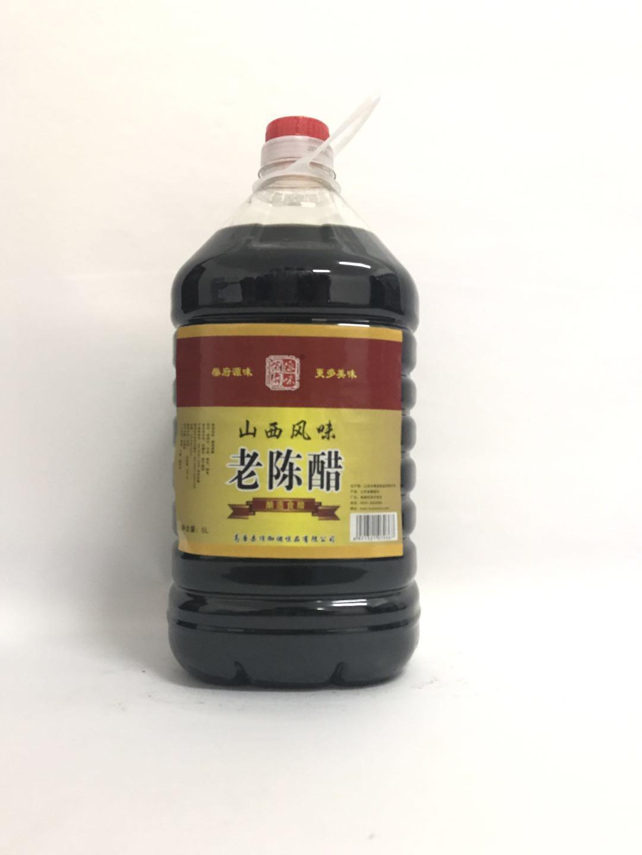 柴府原味老陈醋5L