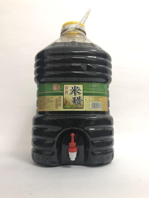 柴府原味清香米醋17.5L