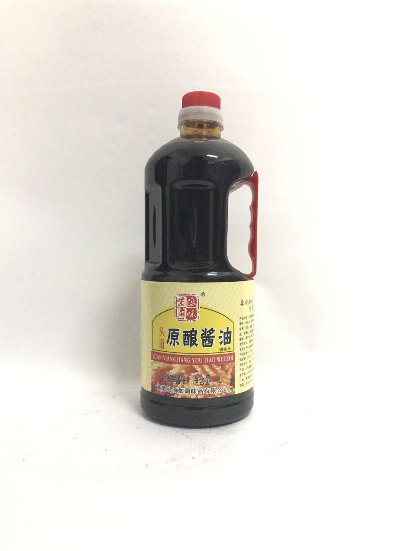 柴府原味原酿酱油1L