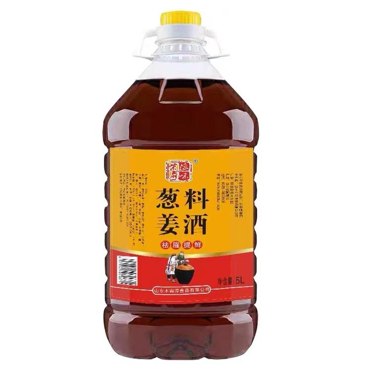 柴府源味葱姜料酒5L