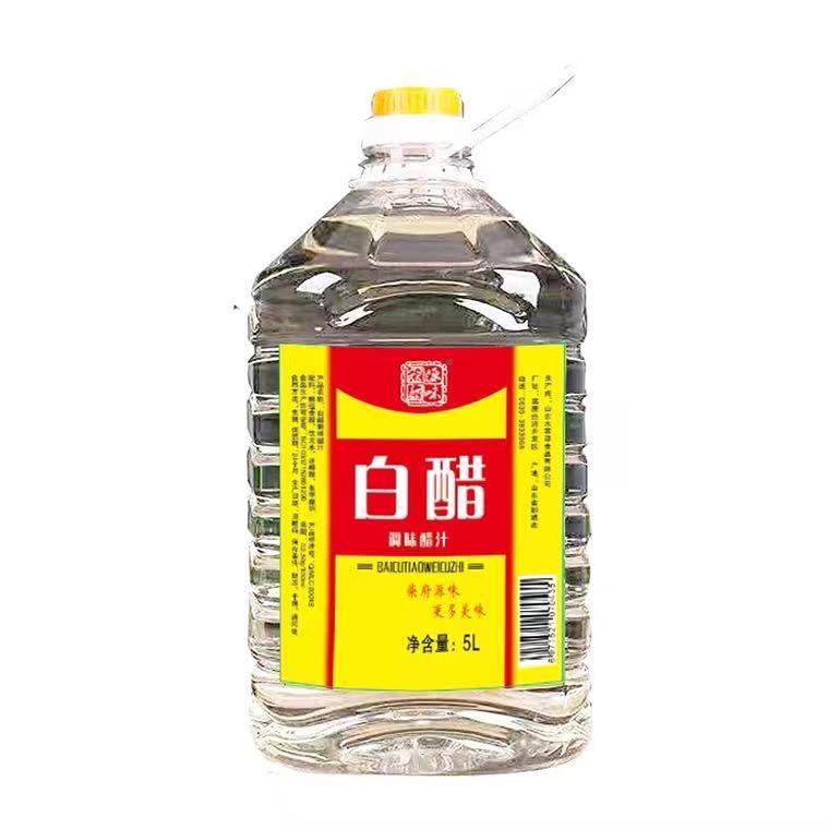 柴府源味白醋调味醋汁5Lx4桶