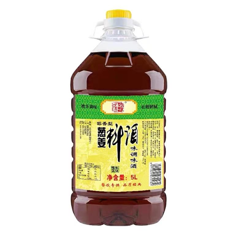 柴府源味葱姜料酒味调味酒5L