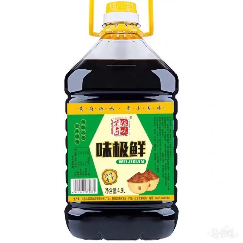 柴府源味味极鲜4.9Lx4